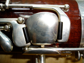 Fox Bassoon thumb keys